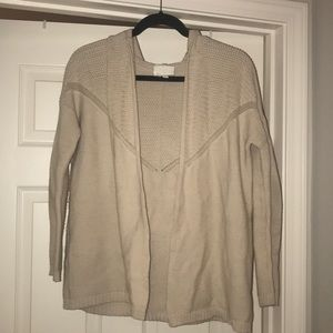 Olive and Oak Cream Cardigan